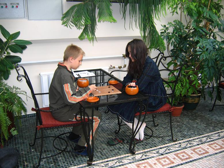 Go game center in Moscow, Chin-qualification for children and adults pupuils