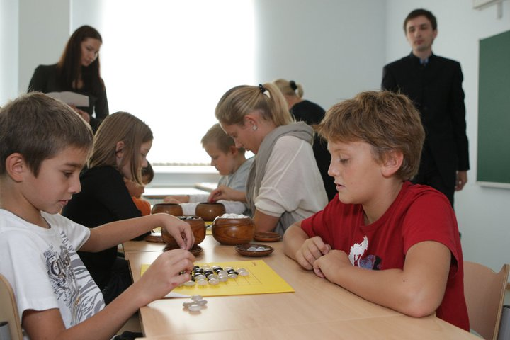 Go class for children in Pavlovo School