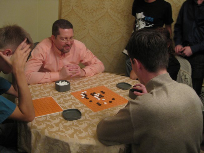 The President of The Go Federation gave master-classes, taught Go game to Russian youth