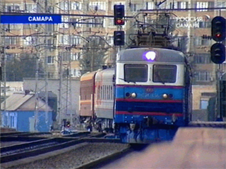 The Youth Train in Samara